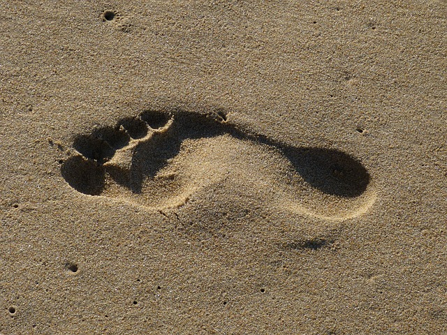 Op je voeten lopen zoals het bedoeld is